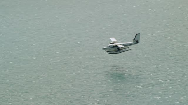 WS TS ZO Aeroplane flying over Charlotte Amalie Harbor / Charlotte Amalie, St. Thomas - Virgin Islands, United States