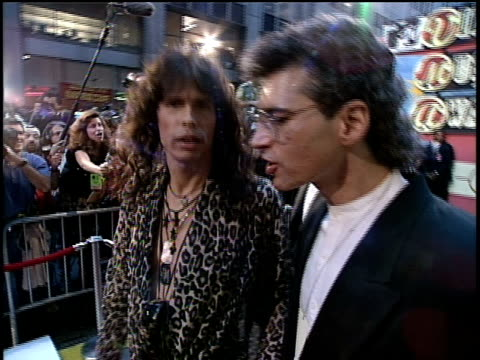 Aerosmith arrive on the red carpet of the 1994 MTV Video Music Awards No audio