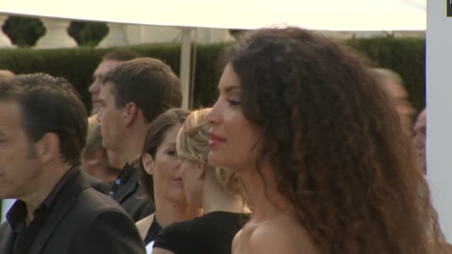 Afef Jnifen at the amfAR Gala Red Carpet Arrivals 64th Cannes Film Festival at Antibes
