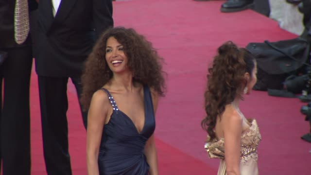 Afef Jnifen at the Cannes Film Festival 2009 Inglourious Basterds Steps at Cannes
