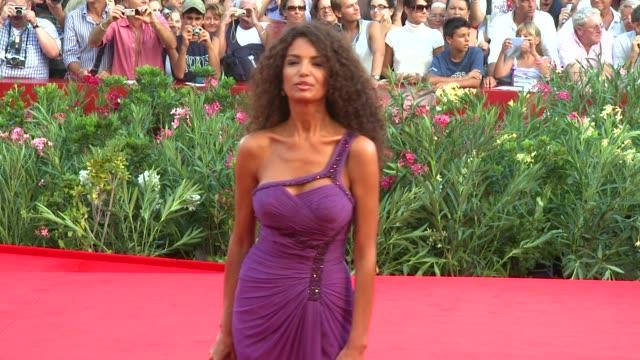Afef Jnifen at the Opening Ceremony/Baaria Venice Film Festival at Venice