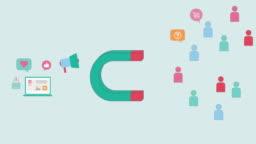 Affiliate / Inbound Social Media Marketing Animation Concept 4K