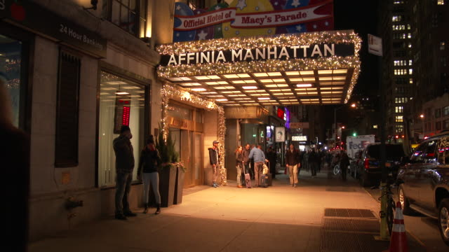 affinia manhattan hotel videos and b roll footage getty images