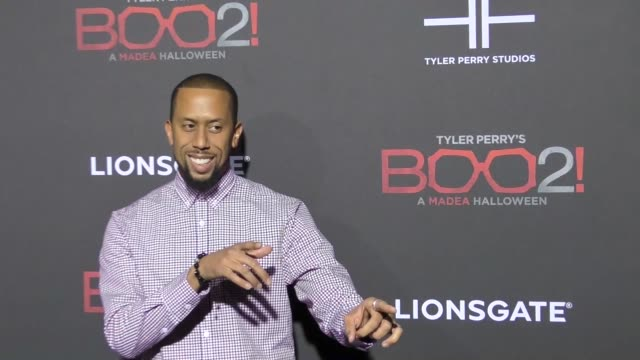 Affion Crockett at Lionsgate Presents The Los Angeles Premiere of Tyler Perry's 'Boo 2 A Madea Halloween' at LA LIVE on October 16 2017 in Los...