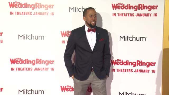 Affion Crockett at The Wedding Ringer Los Angeles Premiere at TCL Chinese Theatre on January 06 2015 in Hollywood California