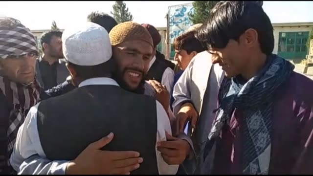 afghan authorities free hundreds more taliban prisoners as calls grow for the militants to extend a historic ceasefire on its third and final day - bagram stock videos & royalty-free footage