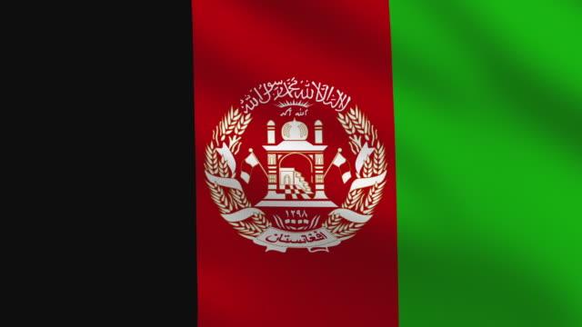 Afghanischer Flagge