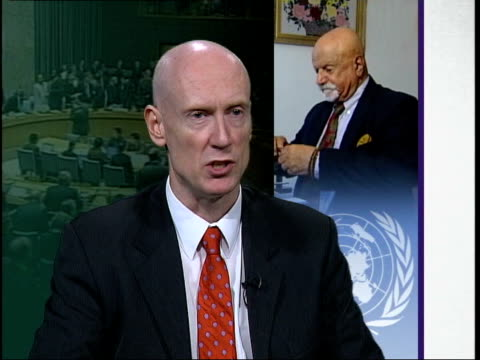 afghan general has name removed from un global terror list; gir: james welch interview sot - the british government gave mr safi no chance to make... - öffentlicher auftritt stock-videos und b-roll-filmmaterial