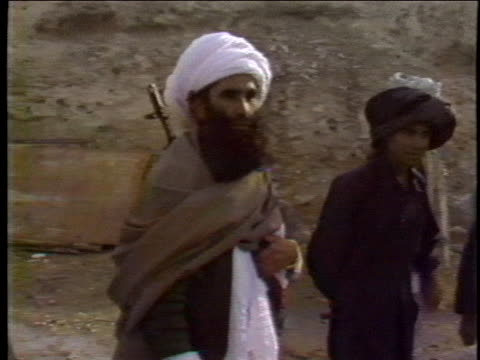 afghan rebels refuse to give in to soviet union demands, as one rebel says they are addicted to freedom. - afghanistan stock videos & royalty-free footage