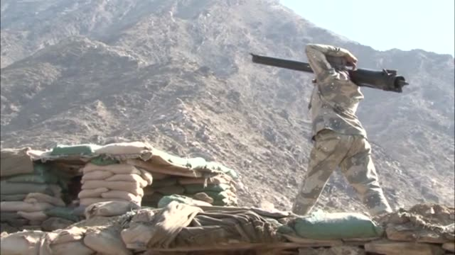 Afghan security forces clash with Daesh terrorists after a terrorist attack on a police post in Kunar province Afghanistan on October 15 2017
