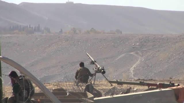 afghan security forces killed at least 35 suspected militants in antitaliban operations in kabulafghanistan on 24 november 2014 - 2001年~ アフガニスタン紛争点の映像素材/bロール