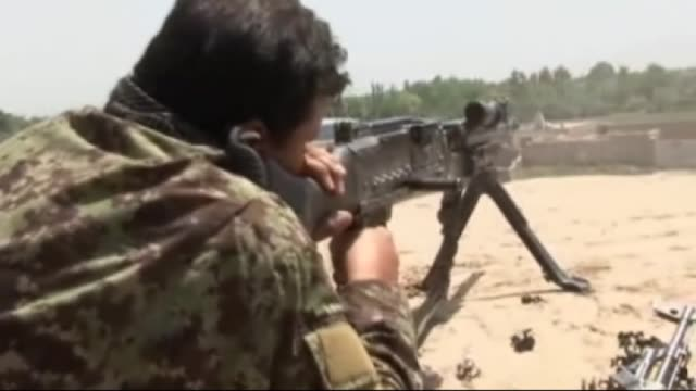 afghan security forces launch a military operation as the clashes between security forces and taliban militants continue for a week in northern... - taliban stock videos & royalty-free footage
