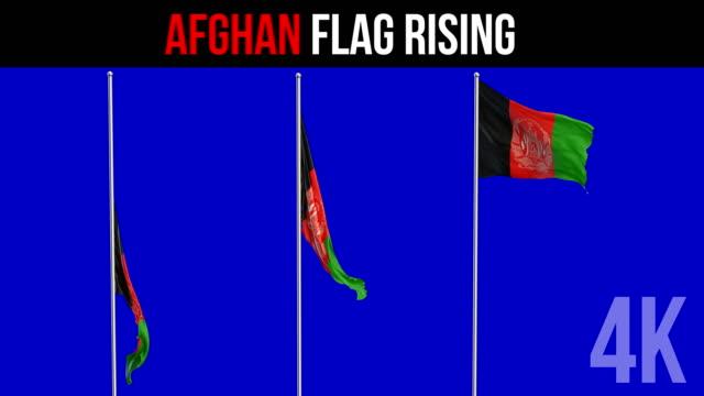 Afghani-Flagge