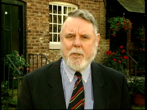 terry waite warning itn terry waite interviewed sot i think the bombing of afghanistan has very serious consequences for the whole world very... - war in afghanistan: 2001 present stock-videos und b-roll-filmmaterial