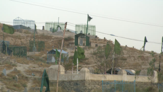 afghanistan cemetary kabul - developing countries stock videos & royalty-free footage