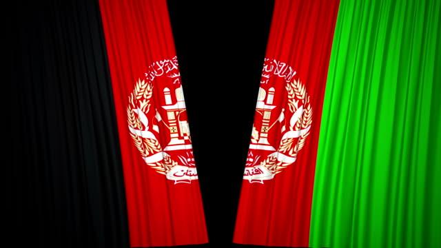 Afghanistan Flagge Vorhang Tuch