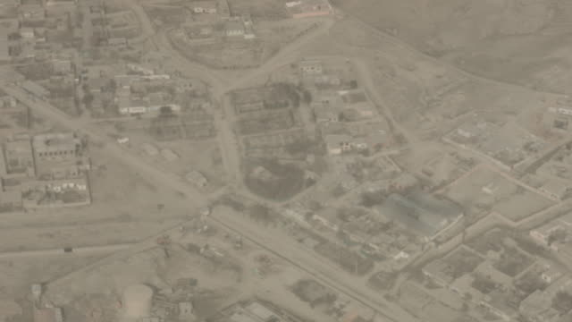afghanistan mountains aerial view - kabul stock-videos und b-roll-filmmaterial
