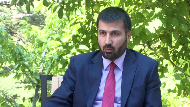 vídeos y material grabado en eventos de stock de afghanistan's newly appointed ambassador to ankara on thursday said that turkey's ongoing mission at the hamid karzai international airport is in... - kabul