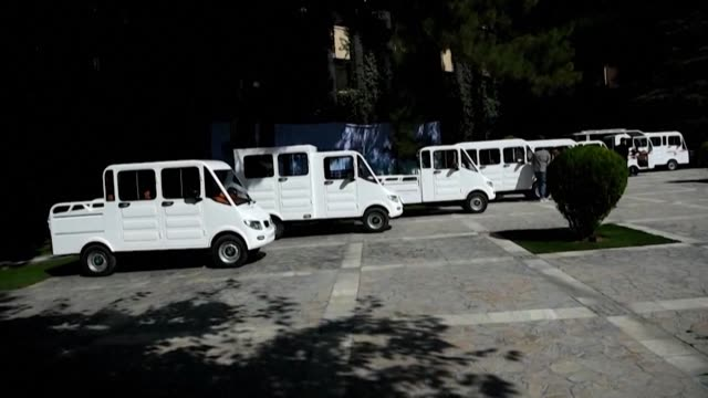 afghanmade hybrid solarpowered cars are unveiled in kabul as the company aims to open a new market in the country that heavily relies on imported and... - newly industrialized country stock videos & royalty-free footage