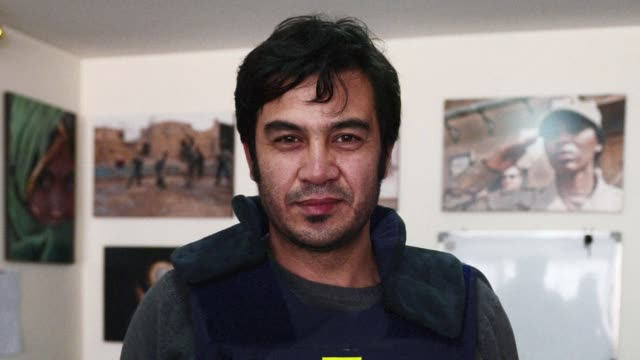 afghans voice their concerns after taliban gunmen kill nine including an afp reporter his wife and two of his three children in an attack on an... - taliban stock videos & royalty-free footage