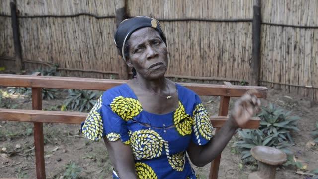 africa, drc, democratic republic of the congo, south kivu, makabola. - 南キブ点の映像素材/bロール