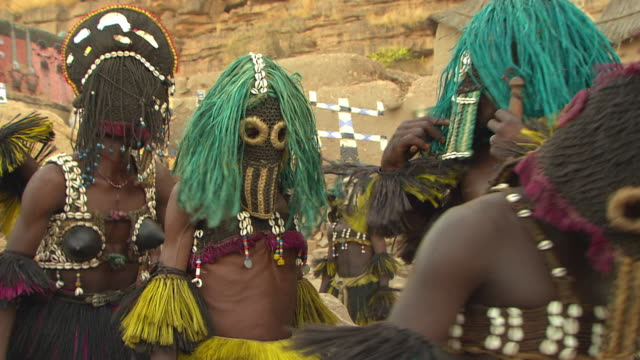 africa traditional dancing - stilts stock videos and b-roll footage