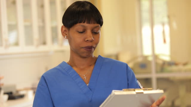 """african american medical worker /richmond,virginia, usa"" - only mid adult women stock videos and b-roll footage"