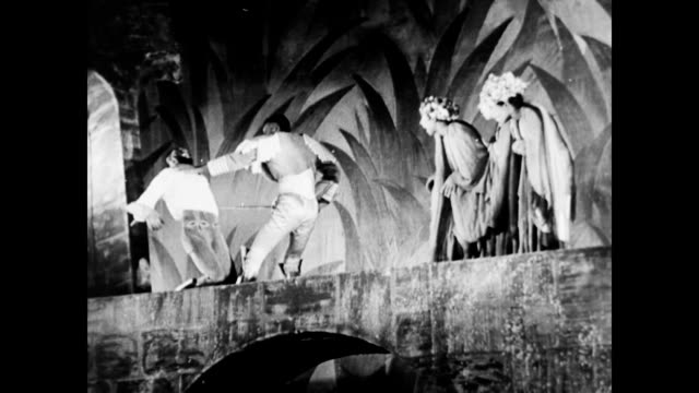 african american performance of macbeth wpa federal theater project negro unit on january 01 1937 in new york new york - 1937 stock videos and b-roll footage