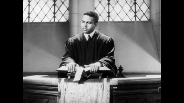 african american preacher speaking to his african american congregation about liberty during wwii african american preacher speaks about liberty on... - preacher stock videos & royalty-free footage