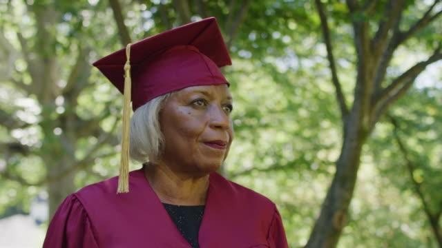 african american senior couple - graduation stock videos & royalty-free footage
