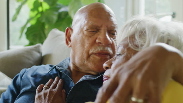 african american senior couple - wife stock videos & royalty-free footage