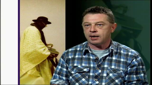african blues musician ali farka toure dies england london andy kershaw interview sot - radio jockey stock videos & royalty-free footage
