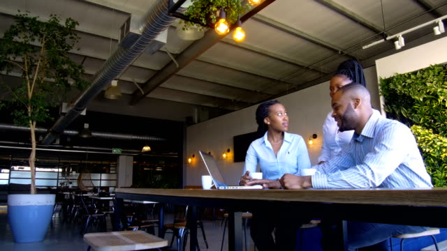 african business team collaborating - employee engagement stock videos & royalty-free footage