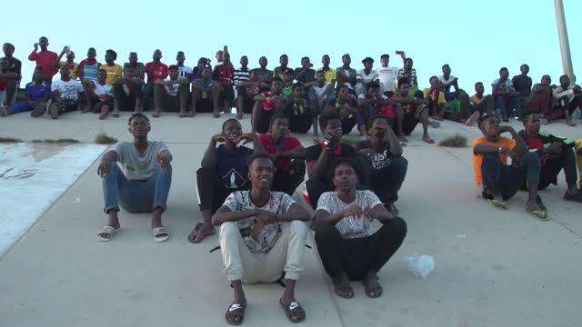 LBN: A Football League Organize By African Irregular Migrants In Libya