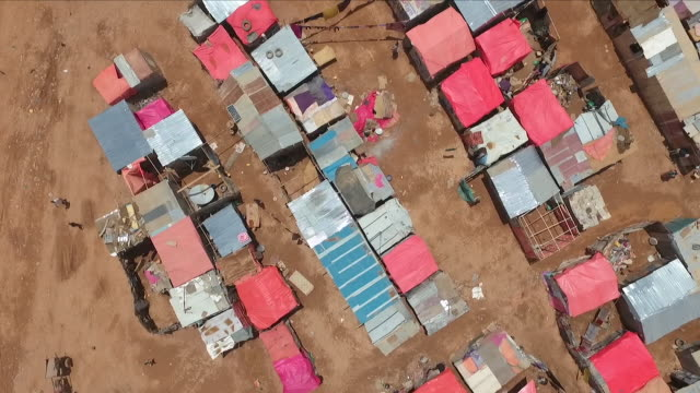 african shanty town - poverty stock videos & royalty-free footage