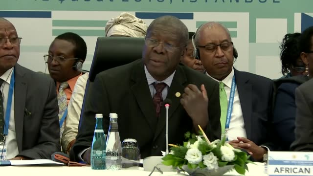 african union commission deputy chairperson thomas kwesi quartey and olivier nduhungirehe, minister of state in the ministry of foreign affairs of... - chairperson stock videos & royalty-free footage