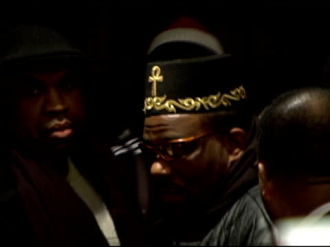Afrika Bambaataa at the Launch of 'HipHop Wont Stop The Beat the Rhymes The Life Collection Initiative' for the Smithsonian Institution at Hilton New...