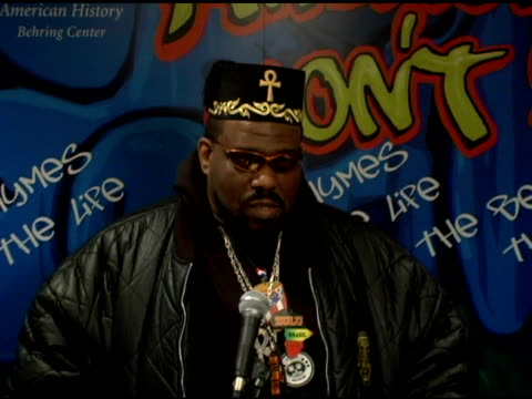Afrika Bambaataa on what is the truth of hip hop the culture joining the Smithsonian and historical figures in the founding of hip hop at the Launch...