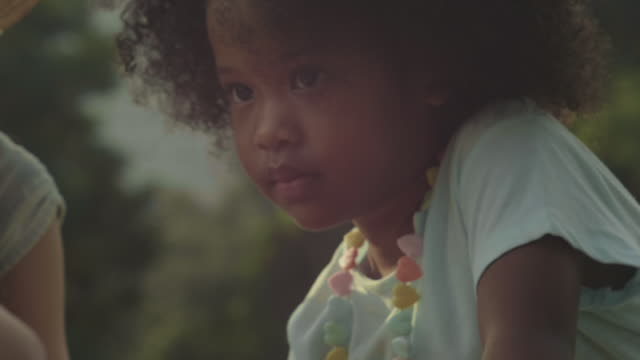 afro : portrait of little baby girl - girls stock videos & royalty-free footage