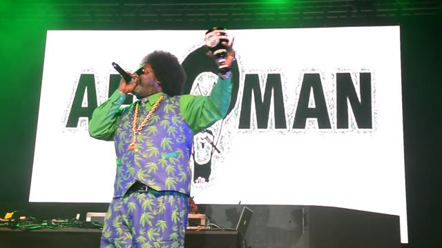afroman performs on stage at the snoop dogg puff puff pass tour at hard rock event center in hollywood, fla on december 20, 2018 in hollywood,... - hollywood florida stock videos & royalty-free footage