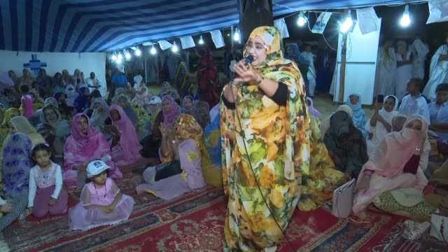 after a campaign rich in colour and steeped in desert traditions voters in mauritania will choose saturday among six candidates vying to succeed... - mauritania stock videos & royalty-free footage