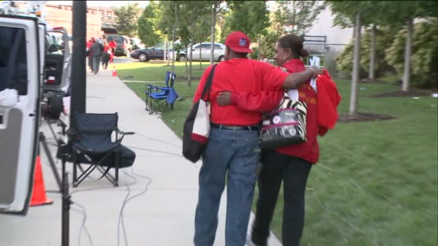 after a house of delegates meeting chicago teachers voted to suspend the strike and head back to the classroom on september 19 2012 in chicago... - head back stock videos & royalty-free footage