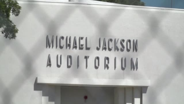 after a vote by parents and teachers michael jackson's elementary school in hollywood california will keep his name on its auditorium despite the... - pedophilia stock videos and b-roll footage