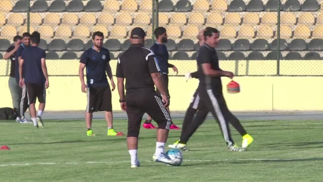 after a years long absence predominantly due to security concerns international football will return to iraq when the country hosts a second round... - international match stock videos & royalty-free footage
