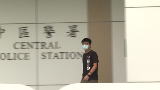 after being arrested again, hong kong's most high-profile activist joshua wong urges the world to pay attention to the dozen of hong kong activists... - dozen stock videos & royalty-free footage