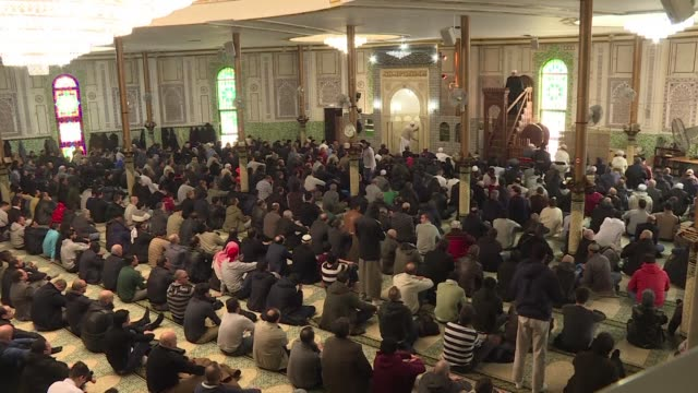 After chanting Allahu akbar the congregation at Brussels Grand Mosque for Friday prayers streamed outside to chant Long Live Belgium feeling the...