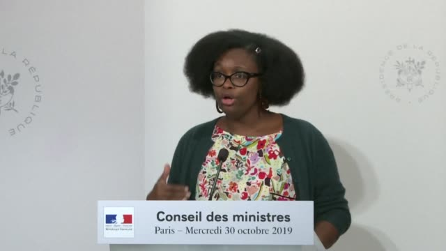 after fiat chrysler and psa announced that they were in merger talks french government spokeswoman sibeth ndiaye believes that becoming the world's... - psa stock videos & royalty-free footage