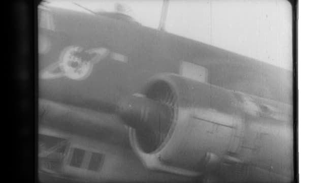 After preparations by ground crews a Luftwaffe bomber crew participates in a mission against allied ships in the North Sea the Luftwaffe bomber...
