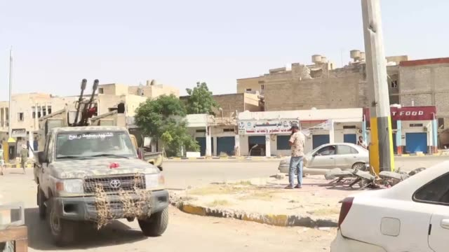 after retaking the country's main airport, the libyan army on thursday announced the complete liberation of the capital tripoli, while its forces... - conflict stock videos & royalty-free footage