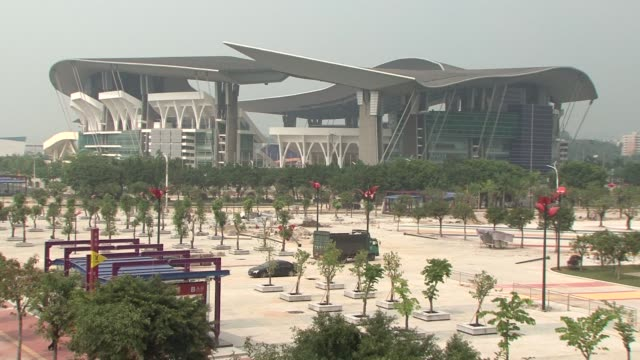 stockvideo's en b-roll-footage met after six years of planning and billions of dollars in investment guangzhou is putting the final touches to its preparations for the asian games... - meer dan 50 seconden